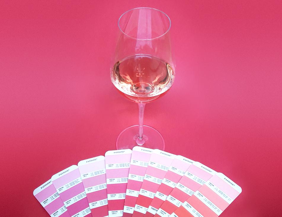 couleur vin rosé