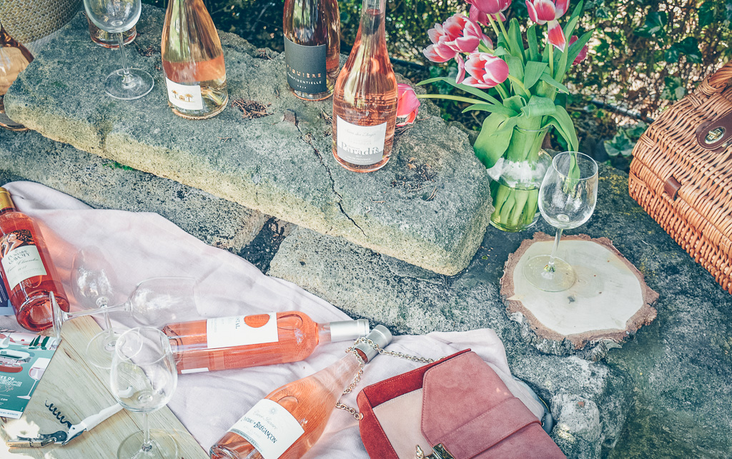 Le rosé : la boisson aux couleurs printemps-été